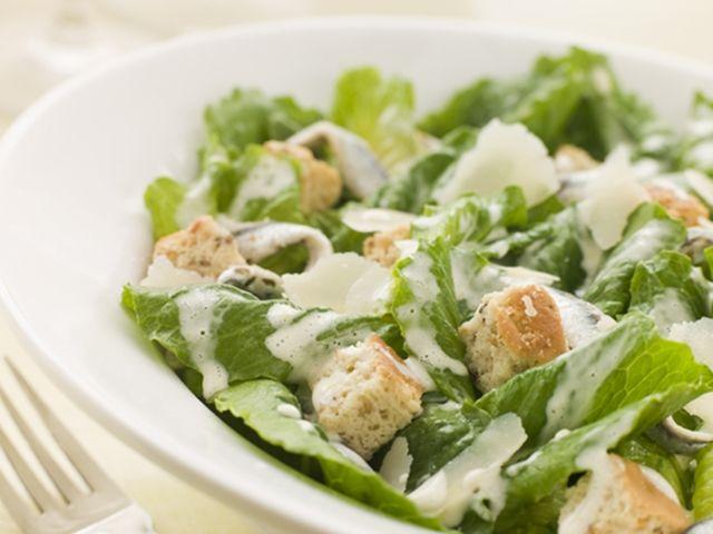 Salát Caesar podle Pohlreicha
