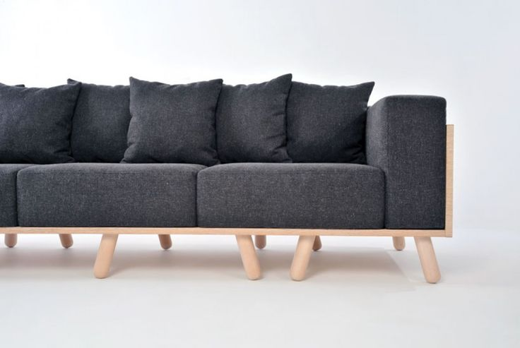 MANY LEGS a sofa with unique personality http://4-room.gr