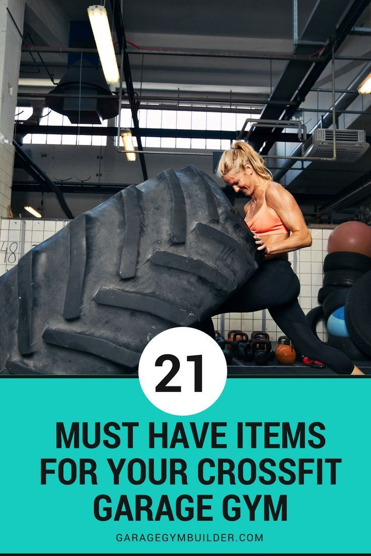Must have items for your crossfit garage gym outdoor crossfit