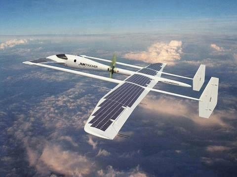 Solar Powered Air Craft