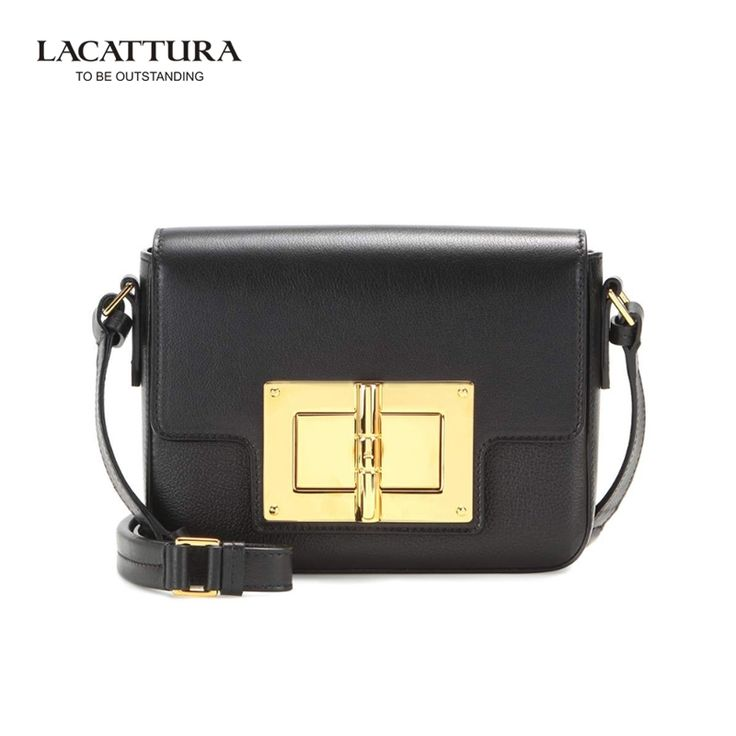 (44.92$)  Know more  - A1329 2017 LACATTURA Brands small cow leather flap Lady's Classic bags with chain belt luxury handbags women bags designer