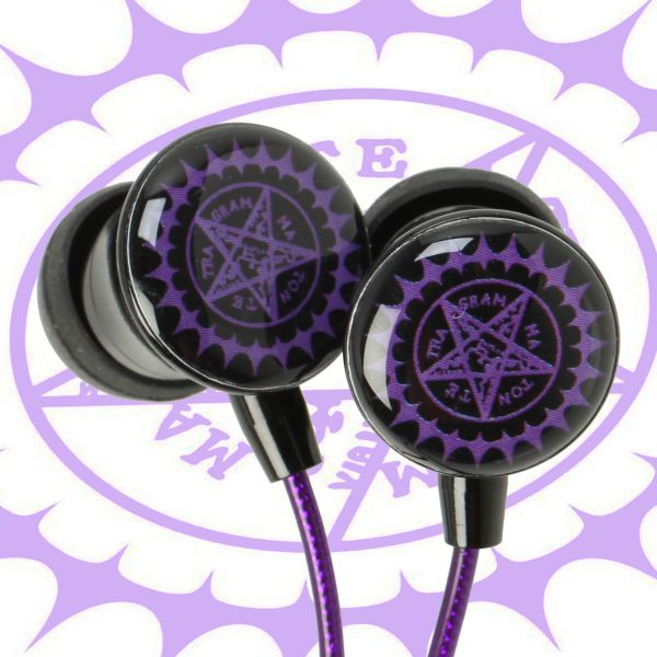 No need to strike a deal with a demon to get your hands on these Faustian earphones – all you need is a credit card. Tune out the world with these Black Butler noise canceling earphones that even comes with Sebastian's seal of approval. #blackbutler #anime