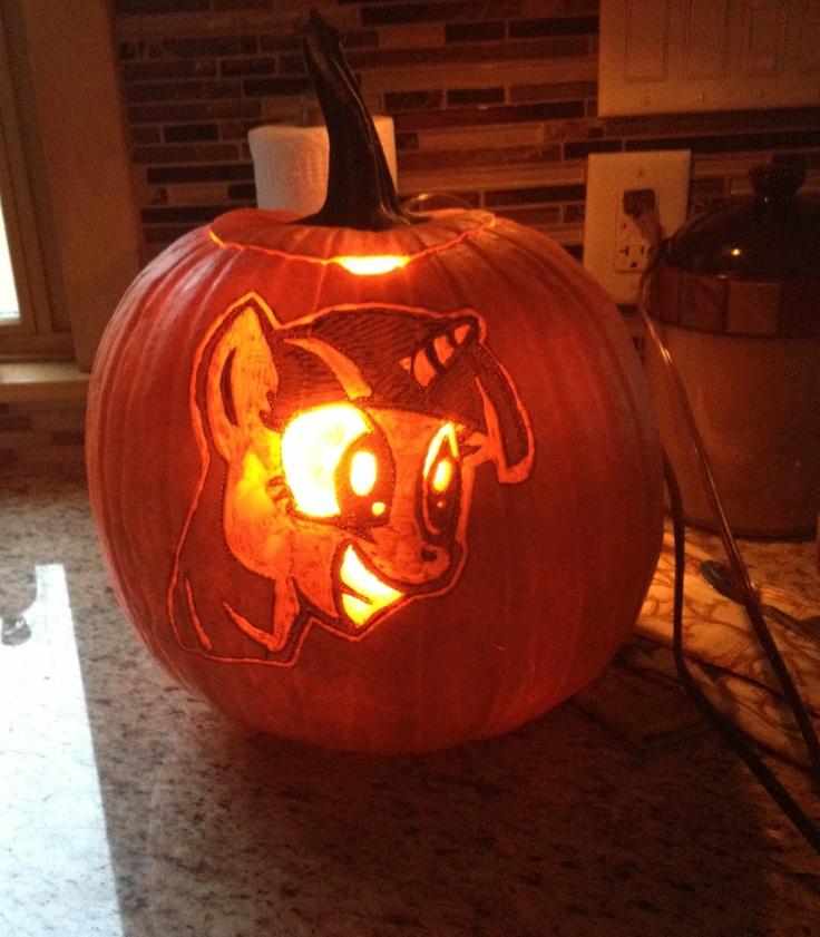 Twilight Sparkle Pumpkin Carving My Little Pony
