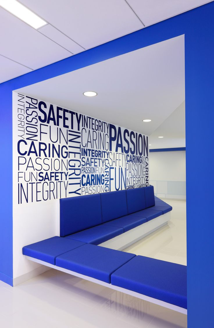 JetBlue, NY | photographer Adrian Wilson - New York Photographer of Interior Design and Architecture, blue bench