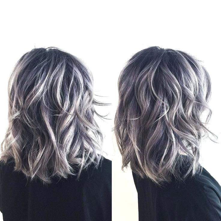 Brown Gray Hair Image Result For Transition To Grey Hair