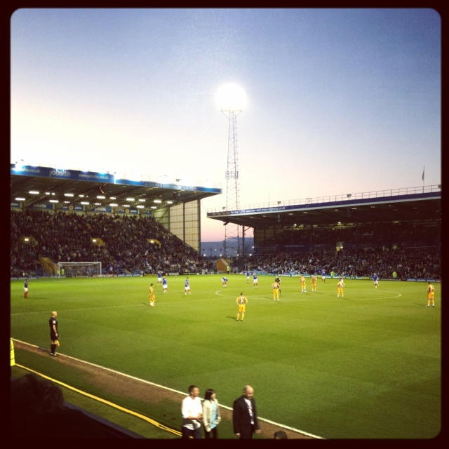 Fratton Park Home Of The Mighty Pompey