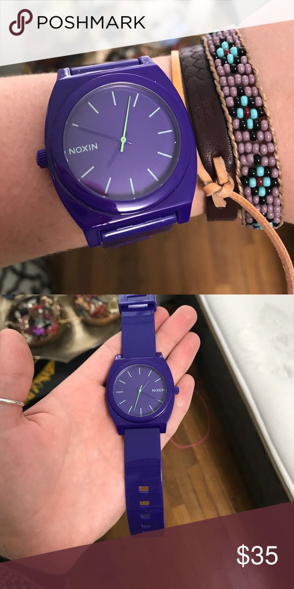 Nixon women's watch Only worn a couple times! The battery would need to be changed. It looks brand new! Nixon Accessories Watches