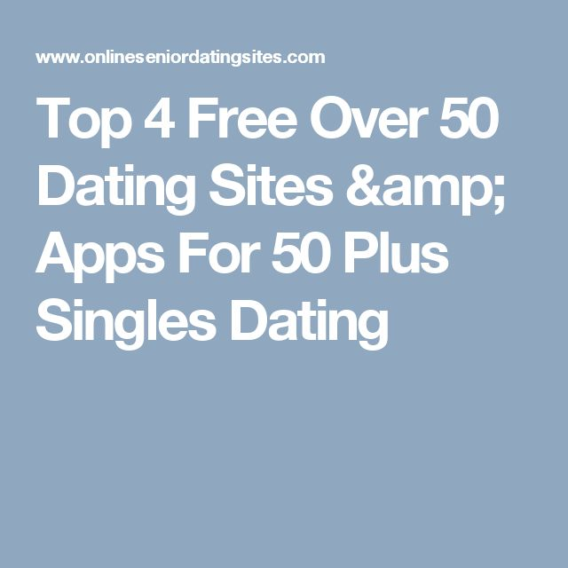 Free canadian dating sites for over 50