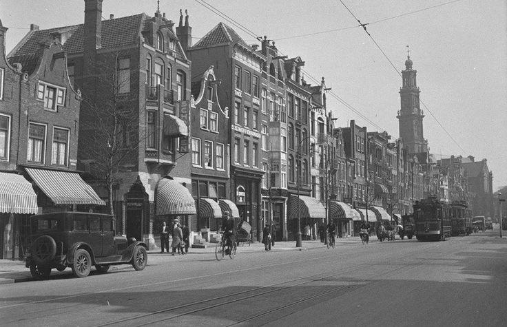Amsterdam: De Rozengracht omstreeks 1935