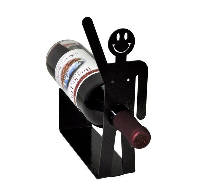 Happy Guy Wine Holder Rack. $15.99, via Etsy.
