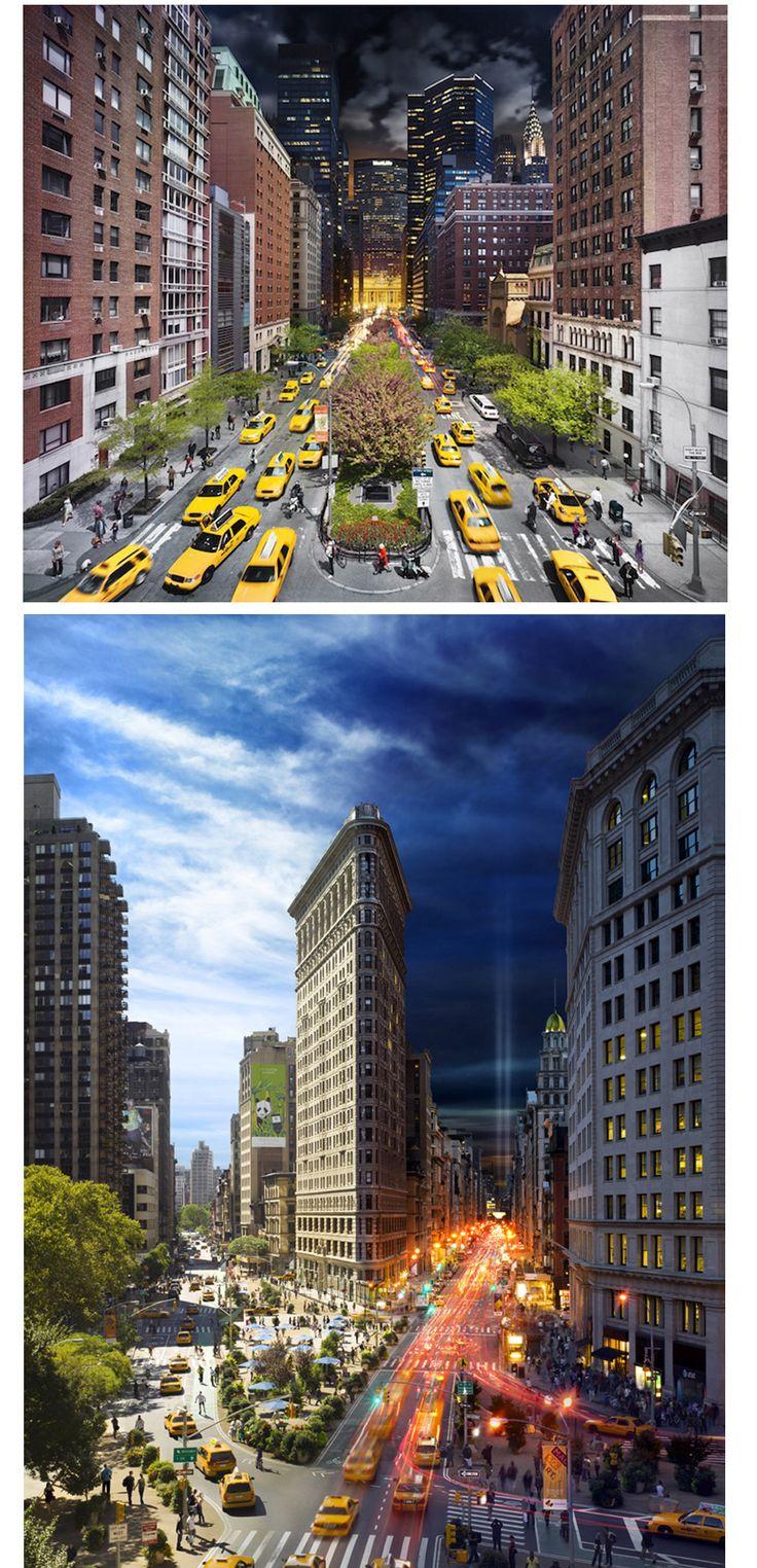 NYC day + night