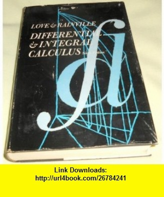 8 best book download images on pinterest tutorials pdf and book differential and integral calculus clyde e love earl d rainville calculusebook pdftutorialsnighthousehausnight shift fandeluxe Choice Image