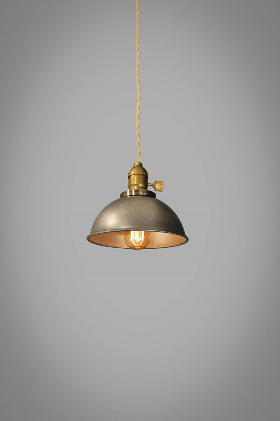 Industrial Steel Dome Pendant Lamp Vintage Hanging