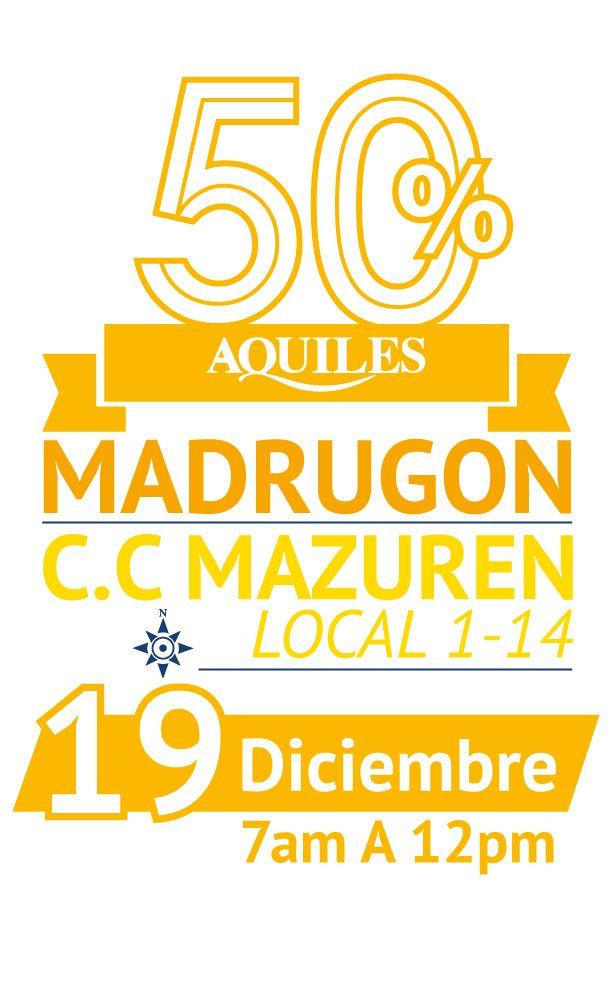 Gran madrugón C.C. Mazuren 19 de Diciembre 2014 de 7am A 12pm.