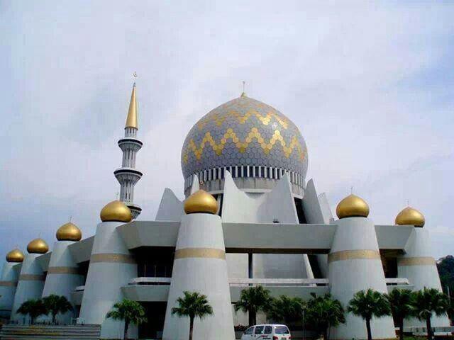 Sabah State Mosque in Kota Kinabalu - Malaysia. home islam.