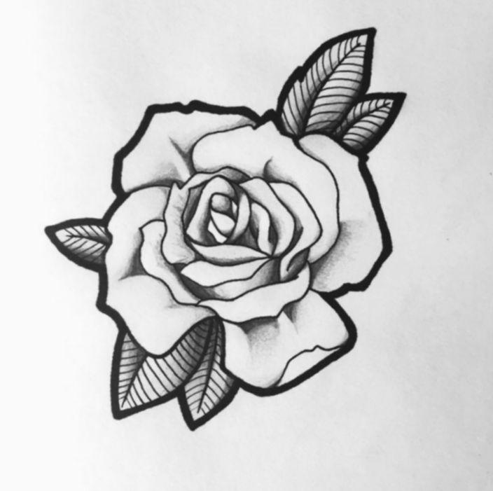 Tattoo Rose Back Black Blackwork Salemma Blackworkers Black And White Flower Tattoo Black And Grey Rose Tattoo Rose Drawing Tattoo