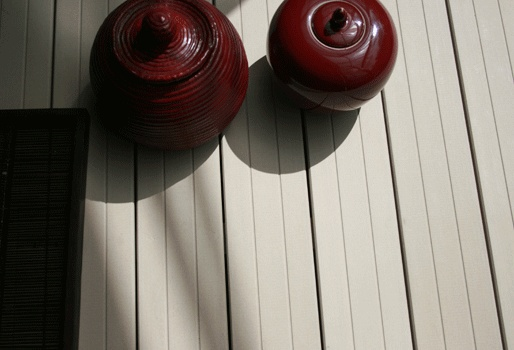 MYDECK WPC Design Dielen im Bootsstegdesign. Aus Holz und Polyethylen. Kein Abschleifen und Imprägnieren.