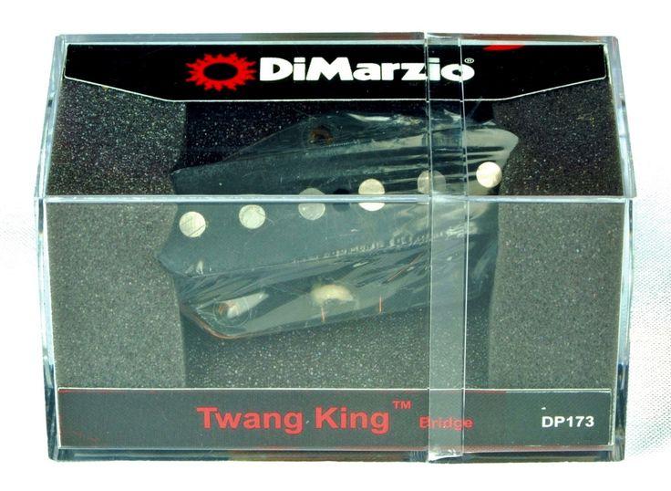 DiMarzio DP173 Twang King Telecaster Bridge Single Coil Pickup - Black