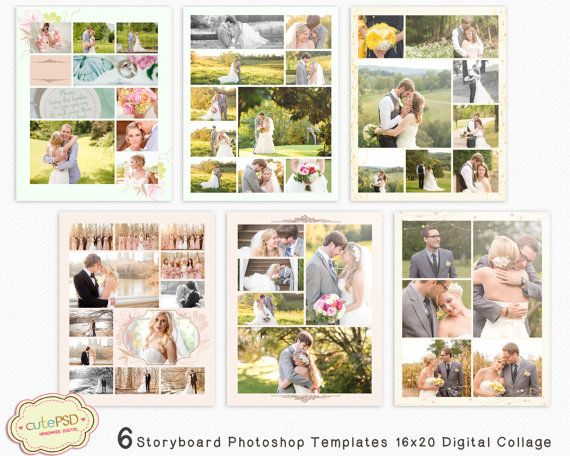 18 best Album Collage Template images on Pinterest Collage - photography storyboard sample
