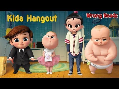Wrong Heads For kids The Boss Baby Tim Jimbo Staci Finger