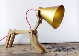 Structures - WAaf lampe gold kids room