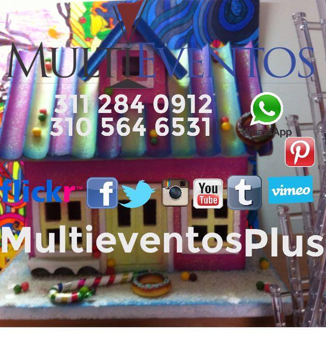 Multieventos mobiliario para tu evento!
