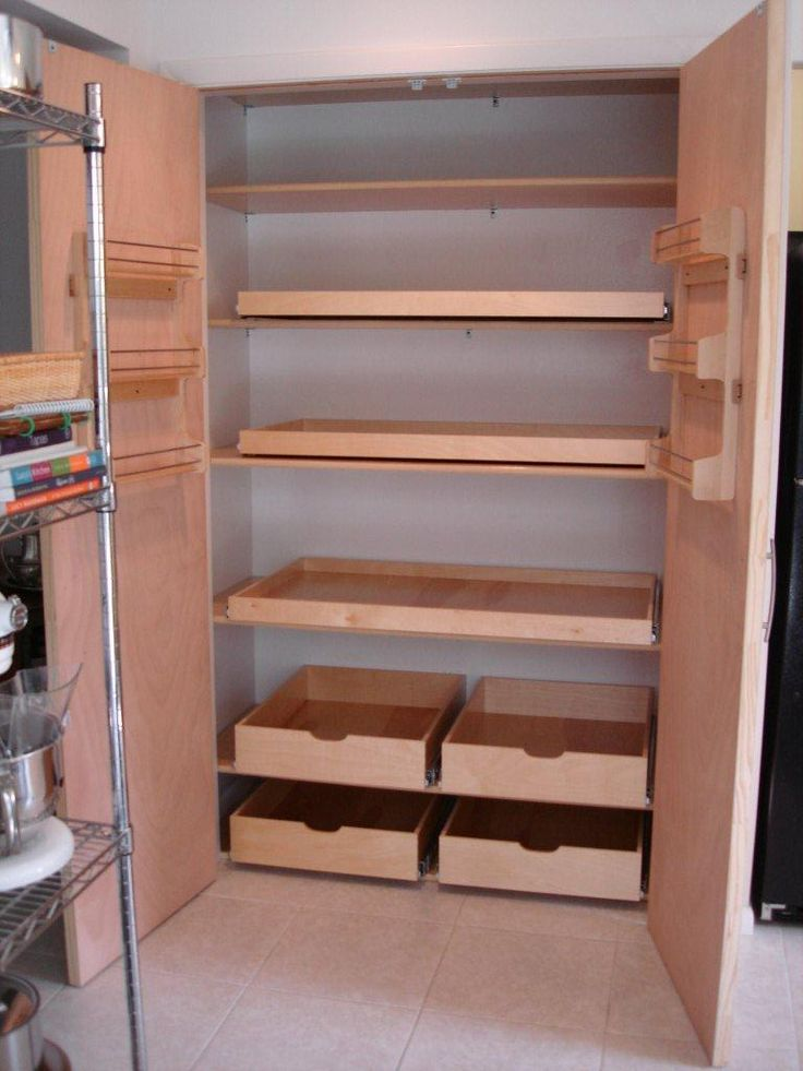 Best 25 pull out shelves ideas on pinterest deep pantry - Roll out shelving for pantry ...