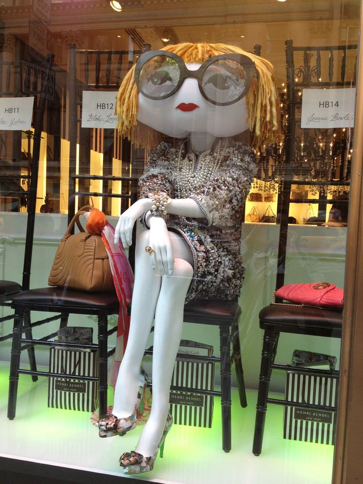 Anna Wintour, truly larger than life…