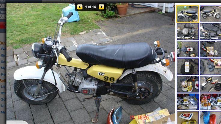 1977 Suzuki RV90 RV 90 a runner