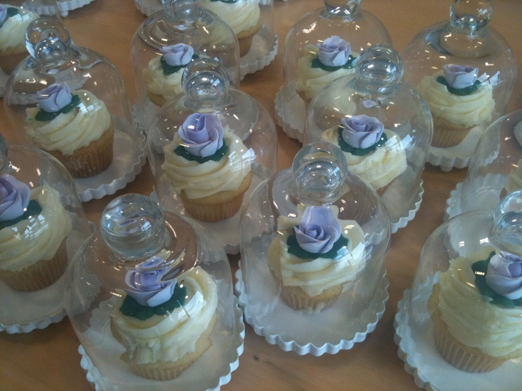 Cupcake send out for rose fragrance launch