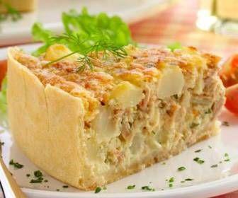 Receita de Torta salgada de frango - Show de Receitas