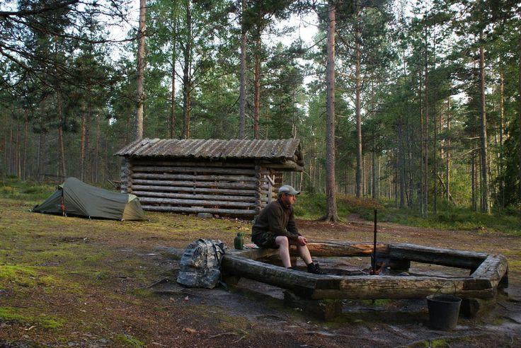 Lauhanvuori - Spitaalijärven telttailualue