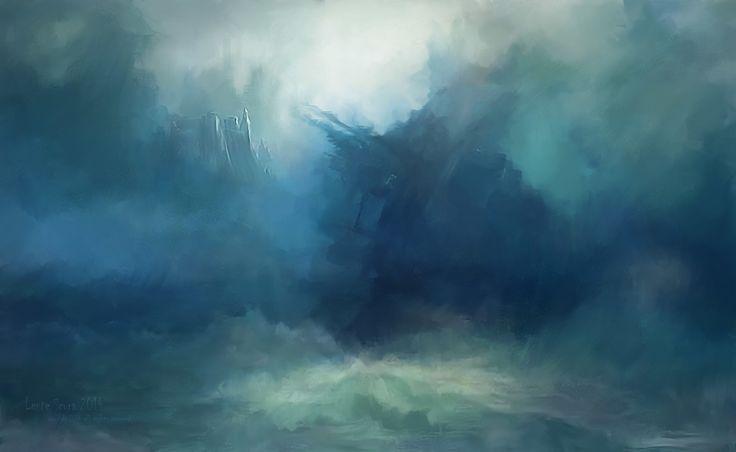 La Profondità del Mare e La Follia, L-E-N-T-E- S-C-U-R-A on ArtStation at https://www.artstation.com/artwork/3brDo