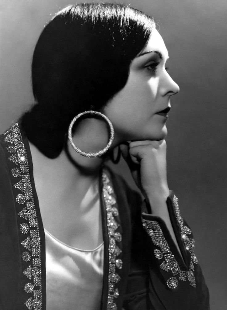 Pola Negri - Polish stage and film actress who achieved worldwide fame during the silent and golden eras of Hollywood and European film for her tragedienne and femme fatale roles.