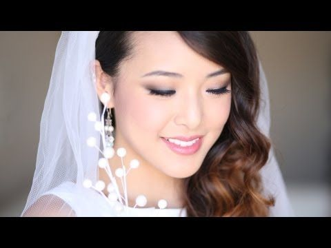 Bridal Wedding Makeup Tutorial - YouTube