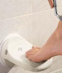 Shaving in the shower just got easier!