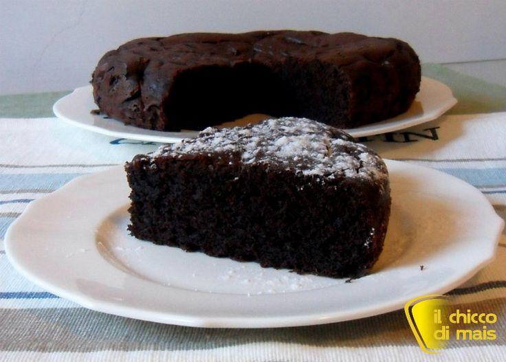 Torta al cioccolato e ricotta che si scioglie in bocca il chicco di mais