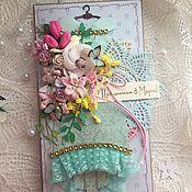 Магазин мастера Ирина (irinaharichkina): персональные подарки, открытки для женщин, конверты для денег, календари ручной работы, блокноты