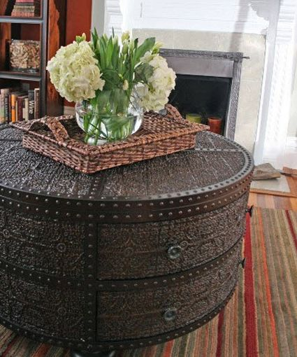 Moroccan table. I so need one of these for the den/office!!j
