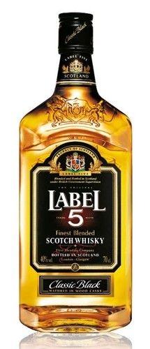Whisky Blended Label 5 Teor alcoólico: 40% Volume: 1.000 ml