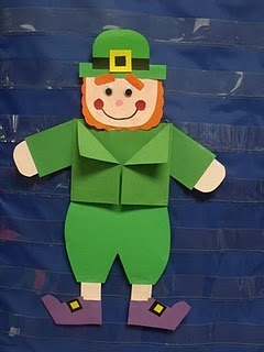 Leprechaun glyph: Saint Patrick'S, Adorable Leprechaun, Leprechaun Crafts, St. Patrick'S Day, Leprechaun Glyphs, Kindergarten Ideas, Patrick'S S, St Patrick'S Day, Art Projects