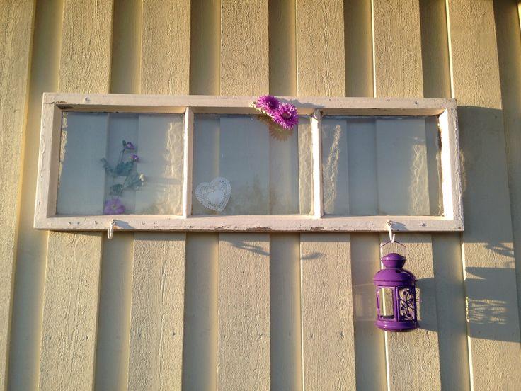 Just fun to try to repurpose windows.