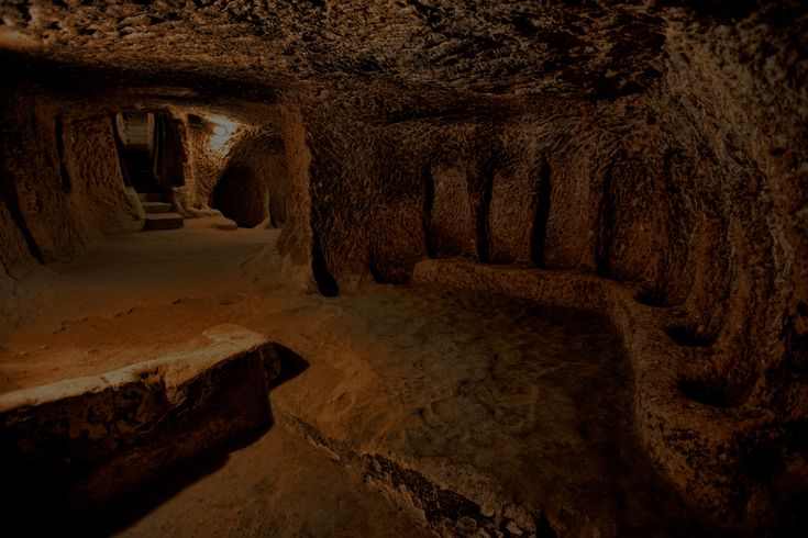 The underground city beneath Cades Cove in the Smoky Mountains.