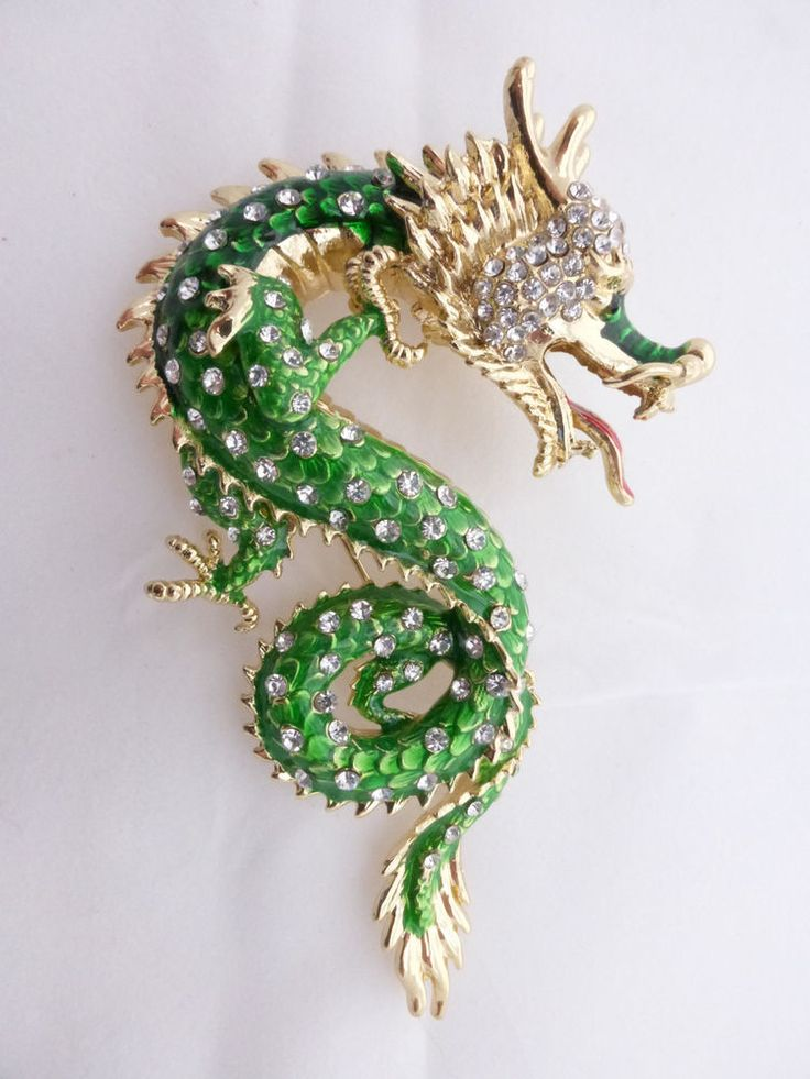175 Best Jewelry Dragon Brooches Images On Pinterest