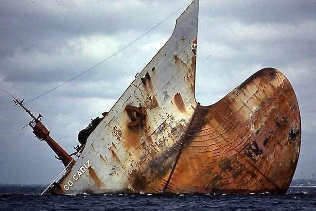 Amoco Cadiz, retour en images pour le 40e anniversaire de son naufrage
