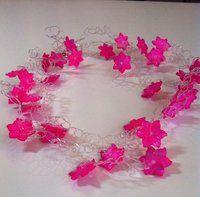 Luftige perle og nylon smykker