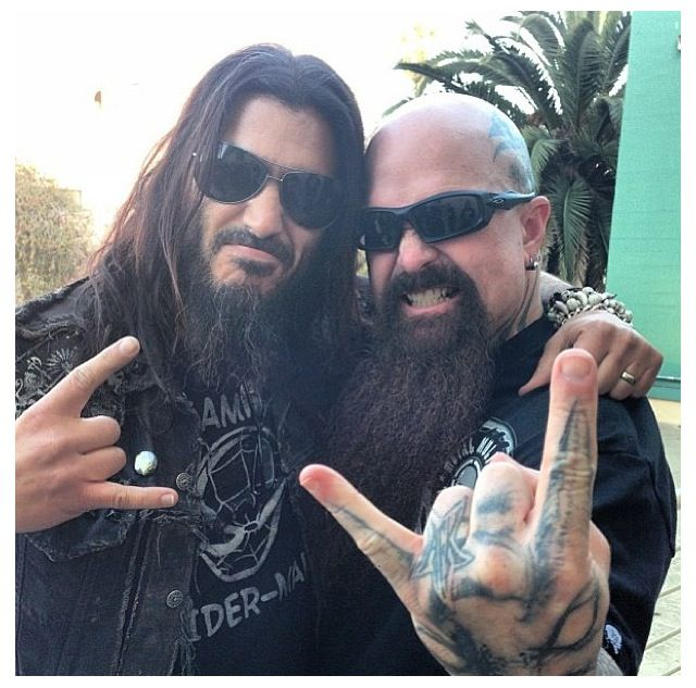 Kerry King Slayer Tattoos: 769 Best Images About My Music On Pinterest