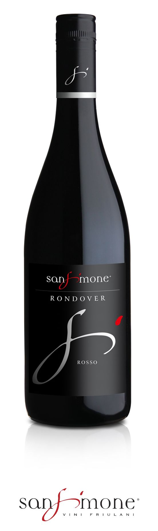 San Simone #RossoRondover  Colour: intense ruby red. Nose: delicate and vinous, with intense notes of wild berries,  reminiscent of raspberry, cherry and blackberry. Palate: dry, soft and harmonious, authenticates the expectations  originated through nose.