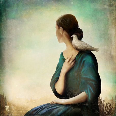 'Another World' by Christian  Schloe on artflakes.com as poster or art print $20.79