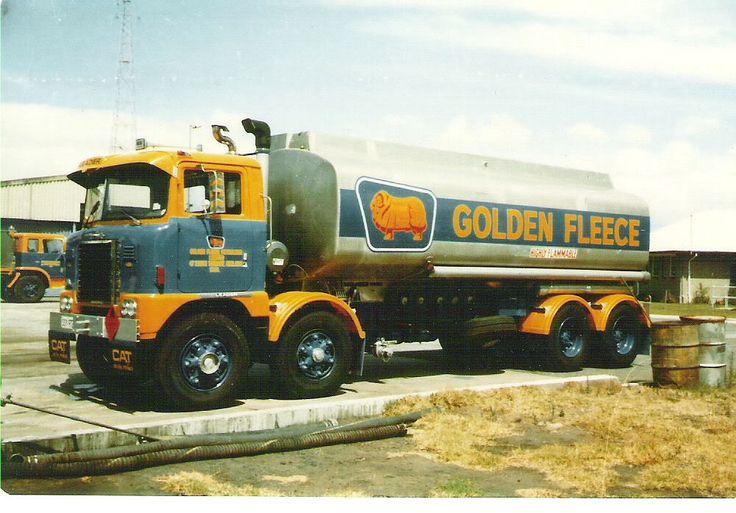 Golden Fleece fuel tanker. v@e.